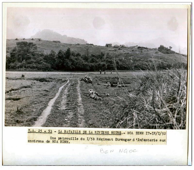 combats de la Rivière Noire janvier-février 1952 510