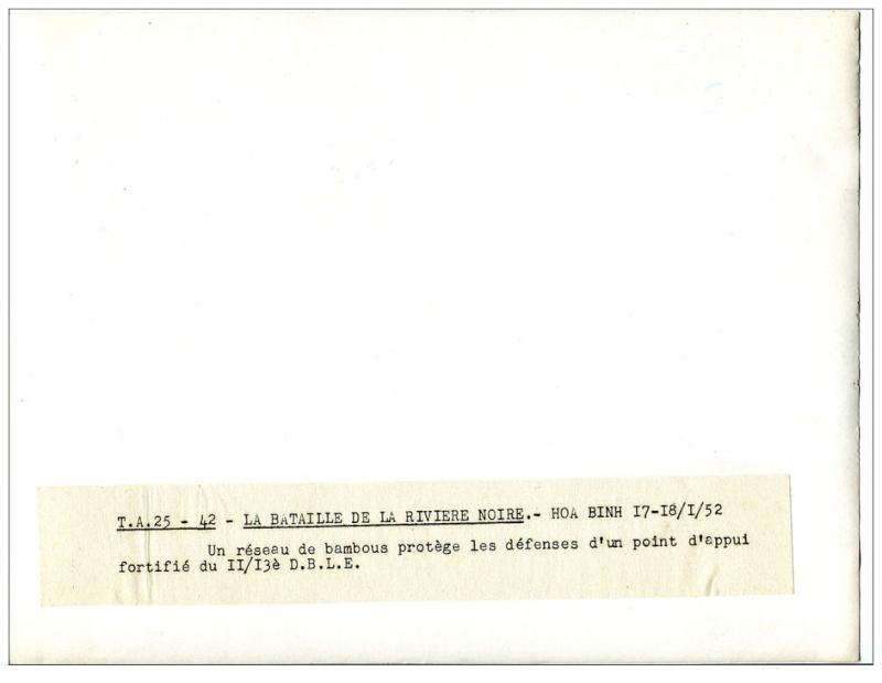 combats de la Rivière Noire janvier-février 1952 910