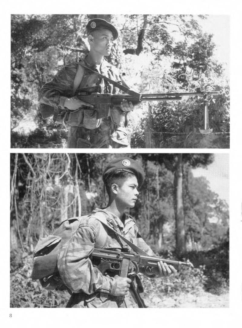 1er bataillon de Parachutistes laotiens Parach10