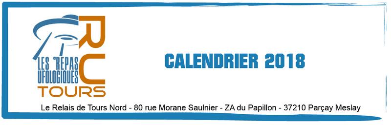Dates des repas Ufologique de Tours 2018. Modyle10