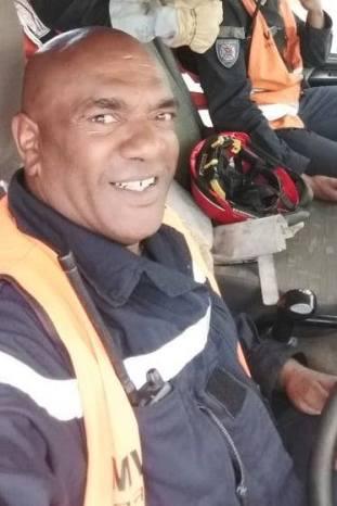 Décès d'un sapeur pompier volontaire du centre d'incendie et de secours de Koumac en Nouvelle Calédonie . (Source du Ministère de l'Intérieur) 49726410