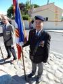 Inauguration du Rond-Point des Anciens-Combattants , avec l'apposition d'une plaque commémorative en hommage à Martial COURBON Adjudant-Chef , Président des Anciens-Combattants ACPG de Bages .(Photographies de Raphaël ALVAREZ) 1113