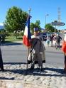 Inauguration du Rond-Point des Anciens-Combattants , avec l'apposition d'une plaque commémorative en hommage à Martial COURBON Adjudant-Chef , Président des Anciens-Combattants ACPG de Bages .(Photographies de Raphaël ALVAREZ) 1411
