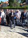 Inauguration du Rond-Point des Anciens-Combattants , avec l'apposition d'une plaque commémorative en hommage à Martial COURBON Adjudant-Chef , Président des Anciens-Combattants ACPG de Bages .(Photographies de Raphaël ALVAREZ) 1512