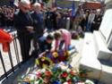 (N°77)Cérémonie Commémorative du 8 mai 1945 et remise de la croix du combattant et de la TRN à un ancien OPEX à Saint Laurent de la Salanque (66),le 8 mai 2017.(Photos de Raphaël ALVAREZ)  15610