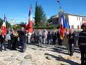 Inauguration du Rond-Point des Anciens-Combattants , avec l'apposition d'une plaque commémorative en hommage à Martial COURBON Adjudant-Chef , Président des Anciens-Combattants ACPG de Bages .(Photographies de Raphaël ALVAREZ) 1611
