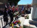 (N°77)Cérémonie Commémorative du 8 mai 1945 et remise de la croix du combattant et de la TRN à un ancien OPEX à Saint Laurent de la Salanque (66),le 8 mai 2017.(Photos de Raphaël ALVAREZ)  16110