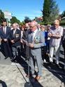 Inauguration du Rond-Point des Anciens-Combattants , avec l'apposition d'une plaque commémorative en hommage à Martial COURBON Adjudant-Chef , Président des Anciens-Combattants ACPG de Bages .(Photographies de Raphaël ALVAREZ) 1711