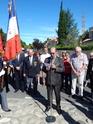 Inauguration du Rond-Point des Anciens-Combattants , avec l'apposition d'une plaque commémorative en hommage à Martial COURBON Adjudant-Chef , Président des Anciens-Combattants ACPG de Bages .(Photographies de Raphaël ALVAREZ) 2412