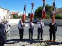 Inauguration du Rond-Point des Anciens-Combattants , avec l'apposition d'une plaque commémorative en hommage à Martial COURBON Adjudant-Chef , Président des Anciens-Combattants ACPG de Bages .(Photographies de Raphaël ALVAREZ) 2512