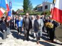 Inauguration du Rond-Point des Anciens-Combattants , avec l'apposition d'une plaque commémorative en hommage à Martial COURBON Adjudant-Chef , Président des Anciens-Combattants ACPG de Bages .(Photographies de Raphaël ALVAREZ) 2610