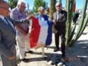 Inauguration du Rond-Point des Anciens-Combattants , avec l'apposition d'une plaque commémorative en hommage à Martial COURBON Adjudant-Chef , Président des Anciens-Combattants ACPG de Bages .(Photographies de Raphaël ALVAREZ) 2711