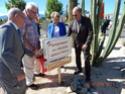 Inauguration du Rond-Point des Anciens-Combattants , avec l'apposition d'une plaque commémorative en hommage à Martial COURBON Adjudant-Chef , Président des Anciens-Combattants ACPG de Bages .(Photographies de Raphaël ALVAREZ) 2811
