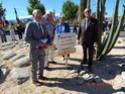 Inauguration du Rond-Point des Anciens-Combattants , avec l'apposition d'une plaque commémorative en hommage à Martial COURBON Adjudant-Chef , Président des Anciens-Combattants ACPG de Bages .(Photographies de Raphaël ALVAREZ) 3011