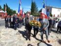 Inauguration du Rond-Point des Anciens-Combattants , avec l'apposition d'une plaque commémorative en hommage à Martial COURBON Adjudant-Chef , Président des Anciens-Combattants ACPG de Bages .(Photographies de Raphaël ALVAREZ) 3211