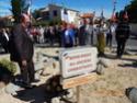 Inauguration du Rond-Point des Anciens-Combattants , avec l'apposition d'une plaque commémorative en hommage à Martial COURBON Adjudant-Chef , Président des Anciens-Combattants ACPG de Bages .(Photographies de Raphaël ALVAREZ) 3511