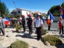 Inauguration du Rond-Point des Anciens-Combattants , avec l'apposition d'une plaque commémorative en hommage à Martial COURBON Adjudant-Chef , Président des Anciens-Combattants ACPG de Bages .(Photographies de Raphaël ALVAREZ) 3611