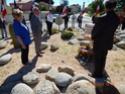 Inauguration du Rond-Point des Anciens-Combattants , avec l'apposition d'une plaque commémorative en hommage à Martial COURBON Adjudant-Chef , Président des Anciens-Combattants ACPG de Bages .(Photographies de Raphaël ALVAREZ) 4010