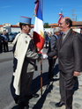 Inauguration du Rond-Point des Anciens-Combattants , avec l'apposition d'une plaque commémorative en hommage à Martial COURBON Adjudant-Chef , Président des Anciens-Combattants ACPG de Bages .(Photographies de Raphaël ALVAREZ) 4510