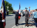 Inauguration du Rond-Point des Anciens-Combattants , avec l'apposition d'une plaque commémorative en hommage à Martial COURBON Adjudant-Chef , Président des Anciens-Combattants ACPG de Bages .(Photographies de Raphaël ALVAREZ) 4610