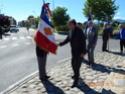 Inauguration du Rond-Point des Anciens-Combattants , avec l'apposition d'une plaque commémorative en hommage à Martial COURBON Adjudant-Chef , Président des Anciens-Combattants ACPG de Bages .(Photographies de Raphaël ALVAREZ) 4811