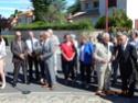 Inauguration du Rond-Point des Anciens-Combattants , avec l'apposition d'une plaque commémorative en hommage à Martial COURBON Adjudant-Chef , Président des Anciens-Combattants ACPG de Bages .(Photographies de Raphaël ALVAREZ) 5310