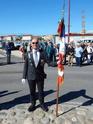 Inauguration du Rond-Point des Anciens-Combattants , avec l'apposition d'une plaque commémorative en hommage à Martial COURBON Adjudant-Chef , Président des Anciens-Combattants ACPG de Bages .(Photographies de Raphaël ALVAREZ) 5412