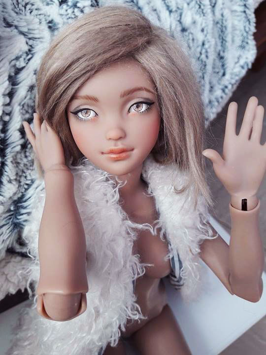 Lana (ziya youpladoll) essais d'une nouvelle wig p2 216