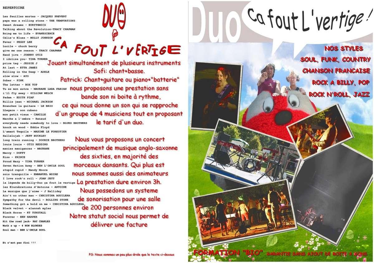 Orchestre groupe cherche Corrèze Cantal, Haute Vienne limousin mariage concert comité d'entreprise  Pub_we11
