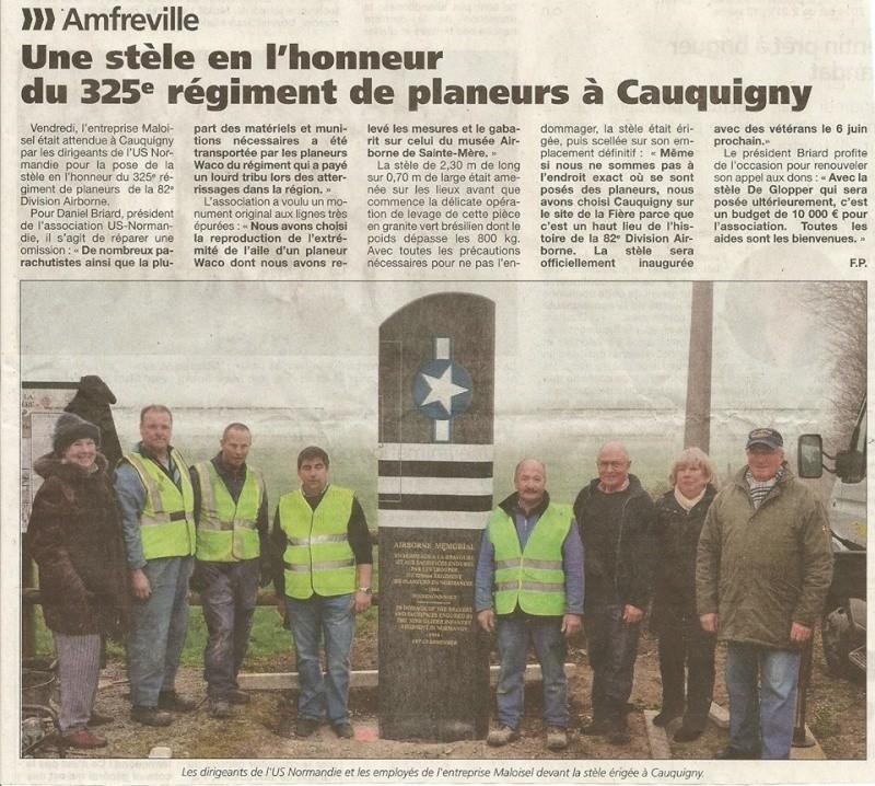 Monument WW2 - Cauquigny  ( Normandie ) 10176210