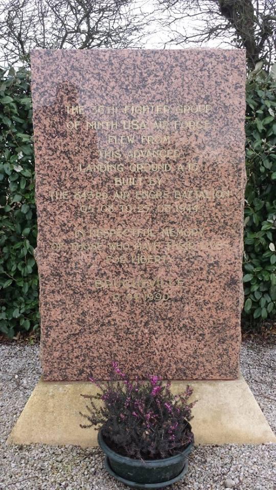 Monument WW2 - Brucheville ( Manche - Normandie )  93657810