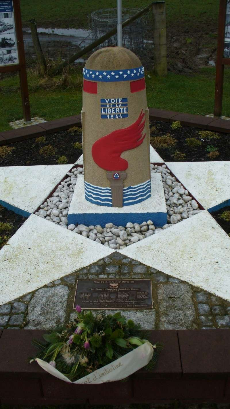 Monument WW2 - Borne de la liberté à Berle ( Lux ) P1130843