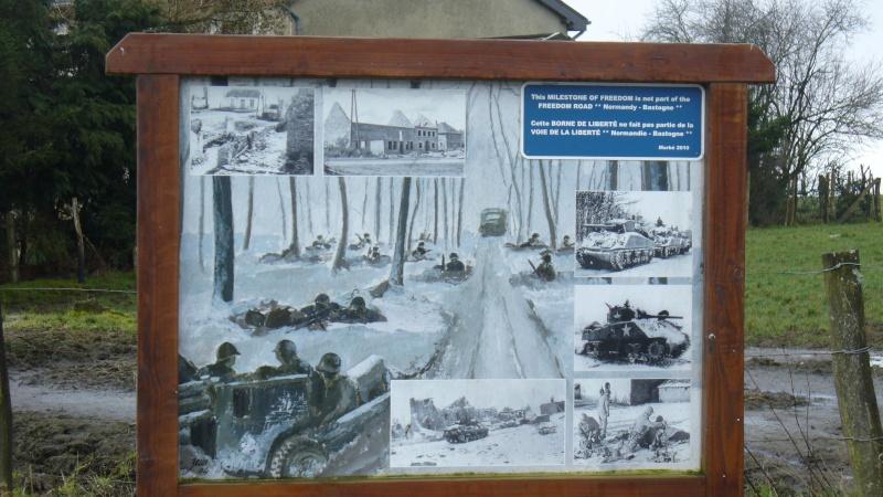 Monument WW2 - Borne de la liberté à Berle ( Lux ) P1130846