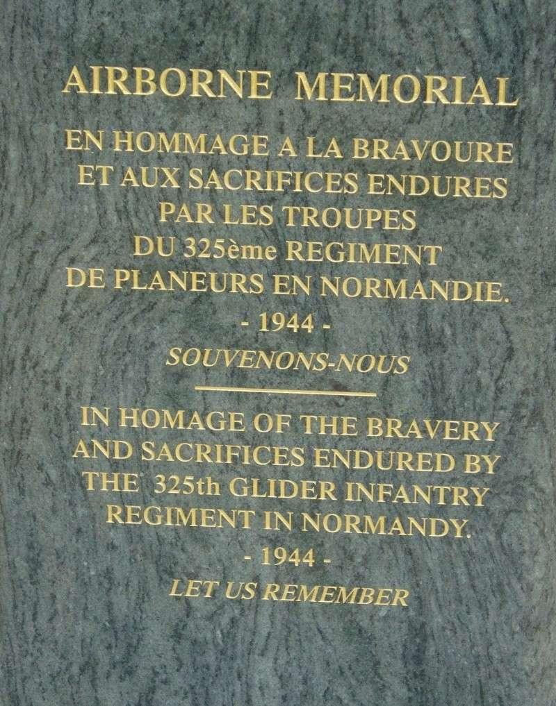Monument WW2 - Cauquigny  ( Normandie ) P1140113