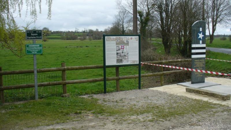 Monument WW2 - Cauquigny  ( Normandie ) P1140114