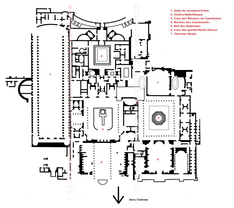 Plans du Temple de la 10ème heure Domus-10