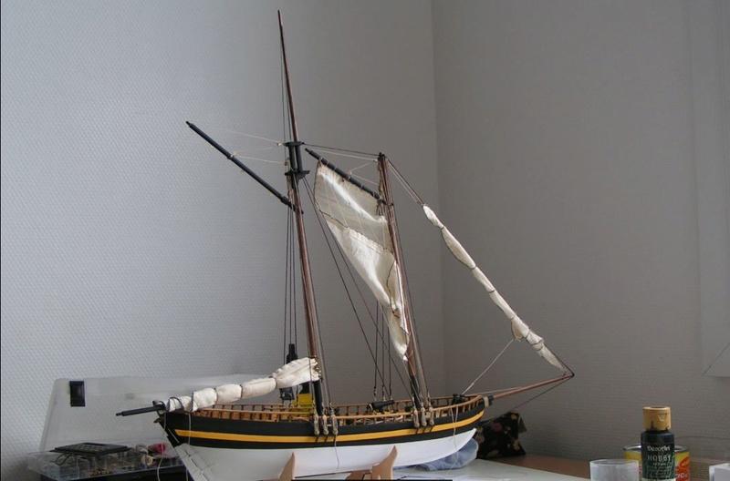 """Le schooner """"VIRGINIA"""" d' AL au 1/41éme Captur14"""