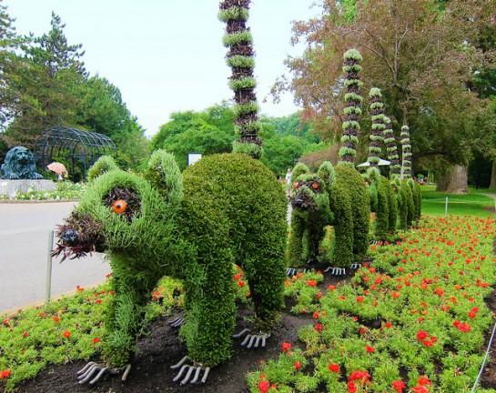 Sculptures végétales  Sculpt13