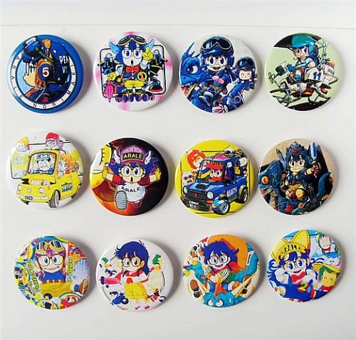 Les badges de dessins animés Alrale10