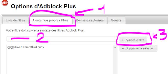 Bogue d'affichage pour les utilisateurs d'Adblock (Chatbox, toolbar ...) Captur28