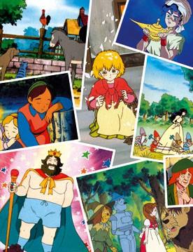 Images des dessins animés de la TOEI Contes10