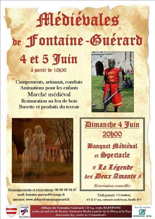 Week end à l'Abbaye de la Fontaine Guérard 18451611