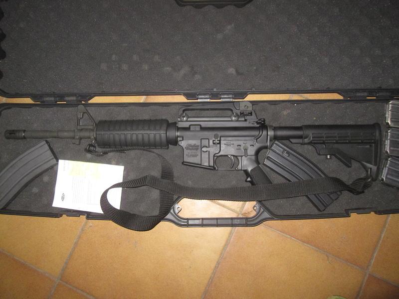 carabine M4 custom en 223 remington. Img_1721