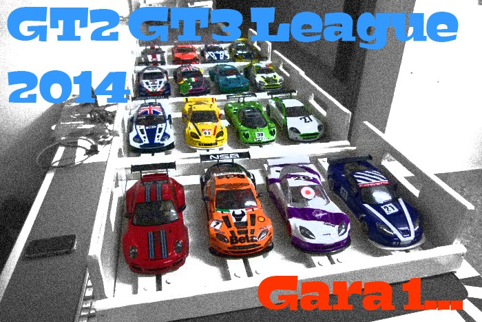 GT2-GT3 League 2014 GARA 1 Titolo12