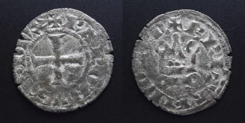 Denier breton de Charles de Blois ... Charle10