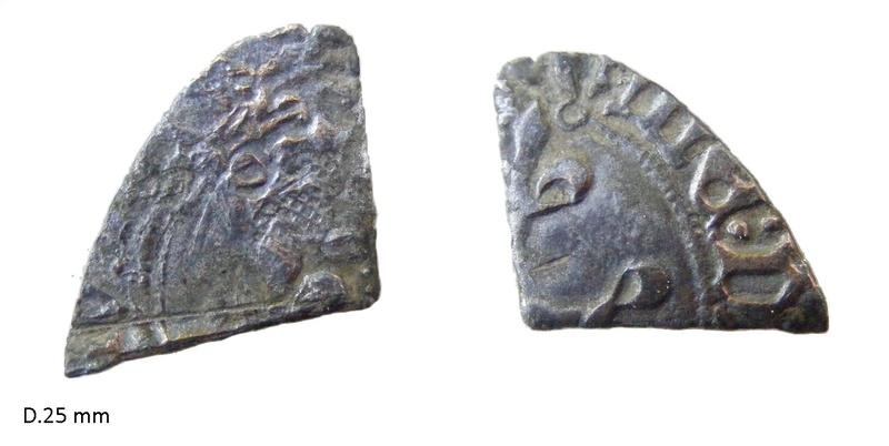 1/4 de monnaie à identifier N16610