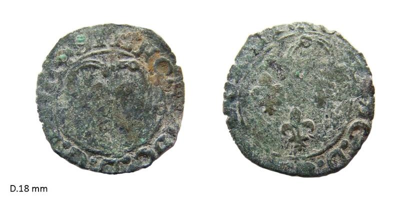 Double tournois pour Henri II ... N17810