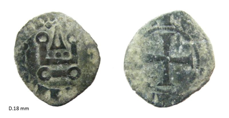 Denier breton de Charles de Blois ... N17910