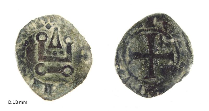 Denier breton de Charles de Blois ... N17911