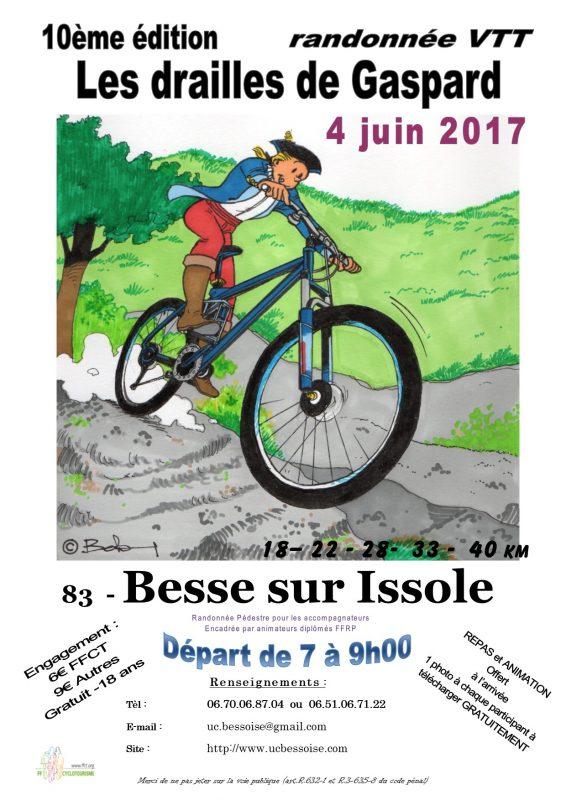 Dimanche 4 Juin Les Drailles De Gaspard  Affich10